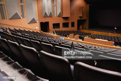 Empty Auditorium Stock Photo Getty Images
