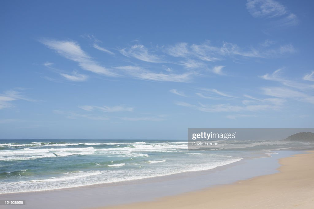 Empty Australian Beach : Stock Photo