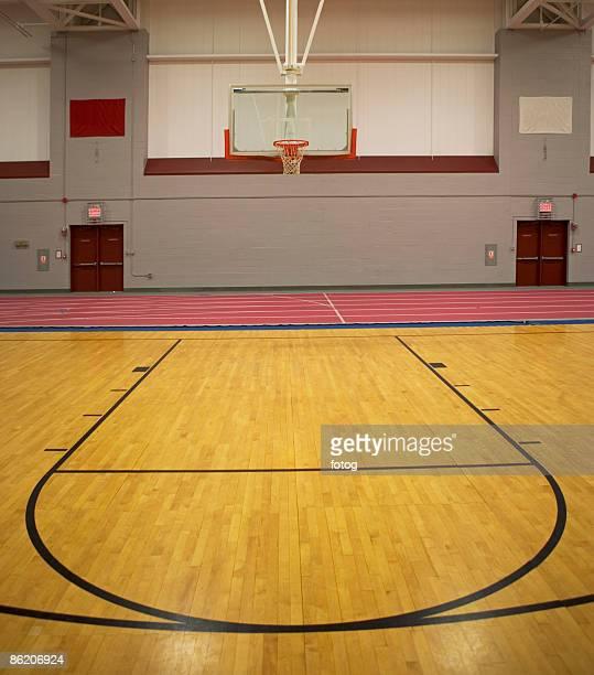 Basketball Court Empty...