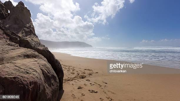 Empty Beach, Bordeira, Faro, Portugal
