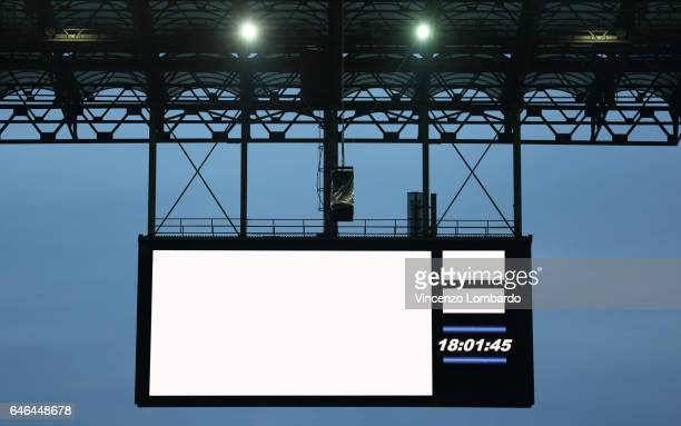 Empty Billboard Stadium