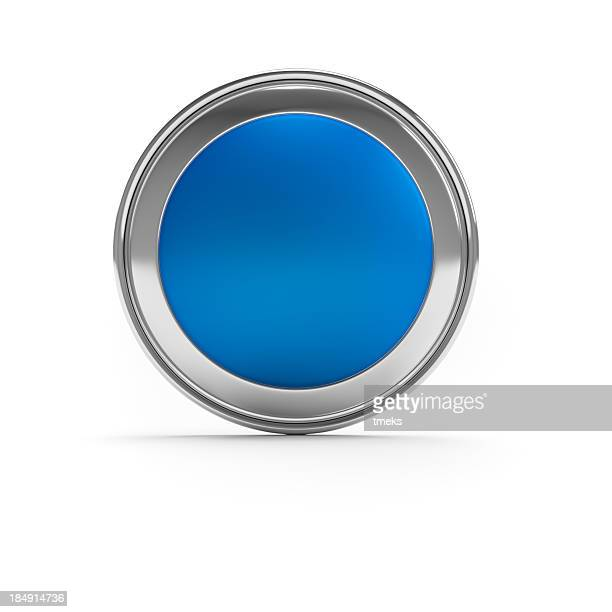 Empty blue button/icon