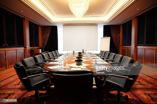 empty board room