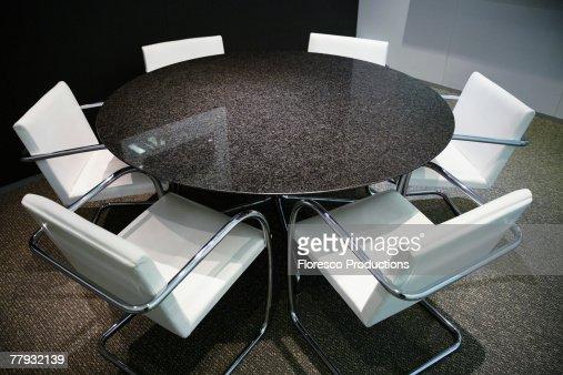 Empty board room : Stock Photo