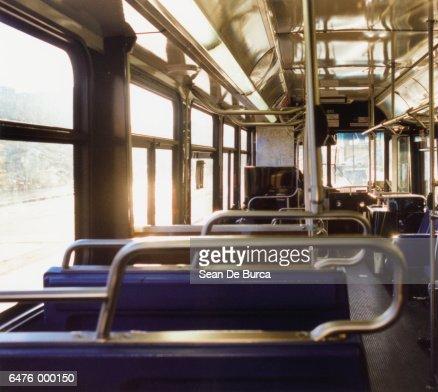 Empty Bus : Stock Photo
