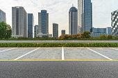 Parking Lot, Building Exterior, City, Road, Built Structure,