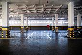 Empty Car Parking Garage