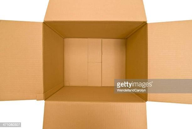 Vide Boîte en carton trois