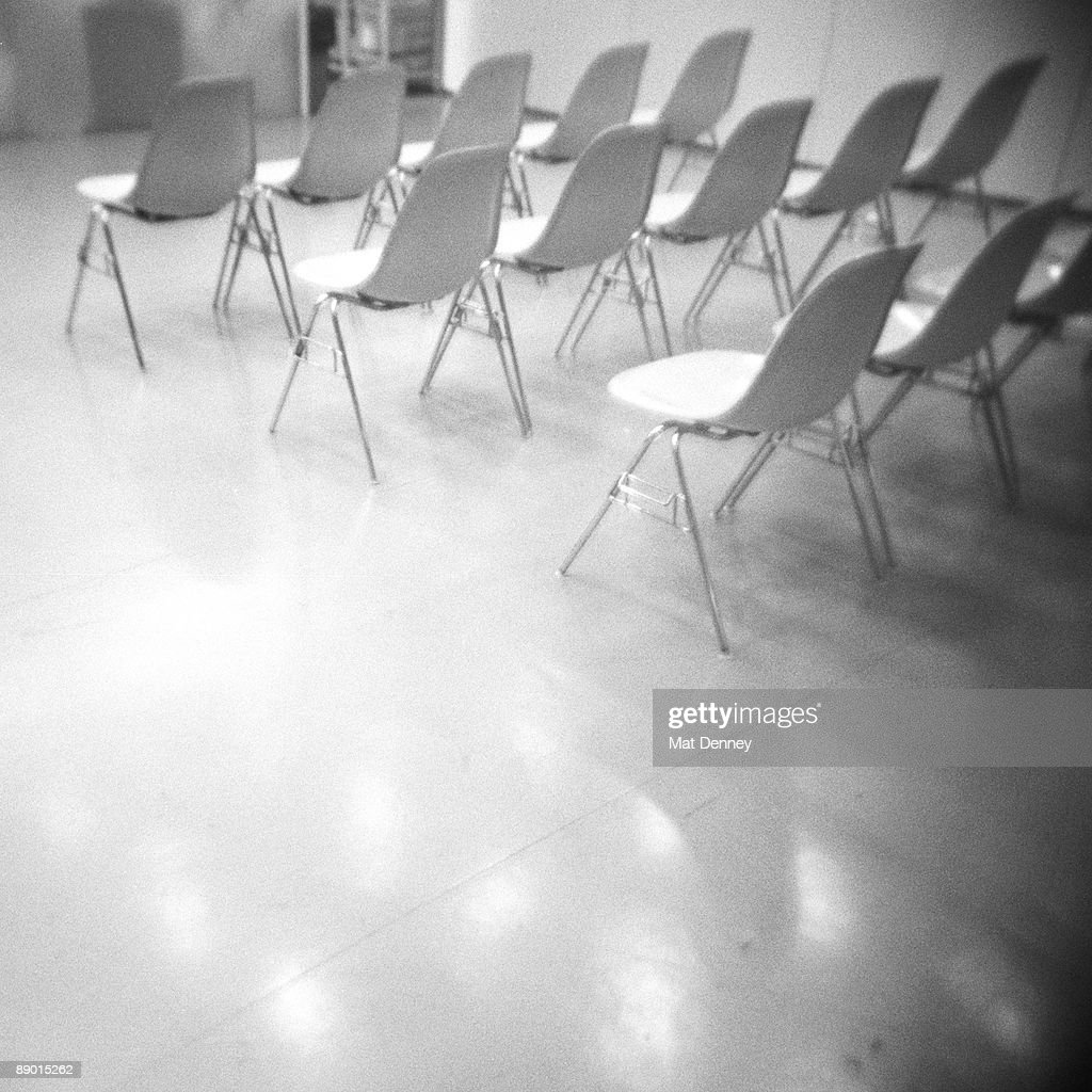 Empty Chairs : Stock Photo
