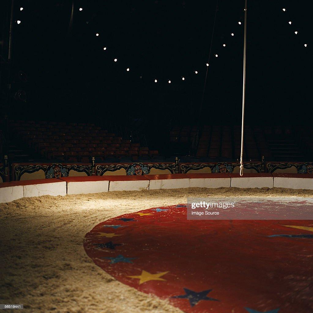 Empty circus stage : Stock Photo