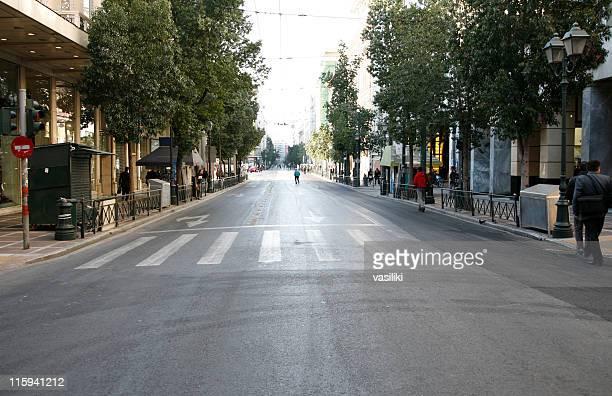 Vuota città street