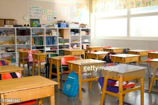 In classe vuota