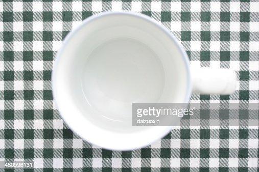 Empty coffee cup : Stock Photo