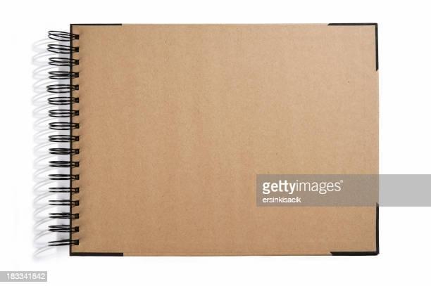 Couverture de livre vide Croquis