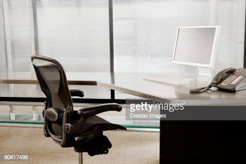 Empty cubicle : Stock Photo