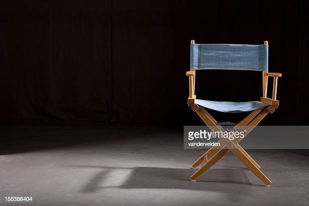 Empty Director's Chair