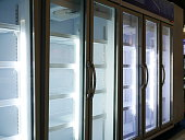 Refrigerator, Shelf, Supermarket, Equipment, Food
