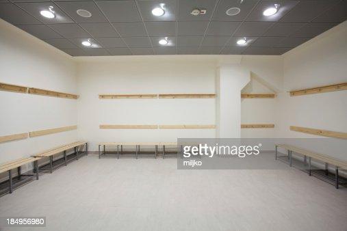 Empty dressing room
