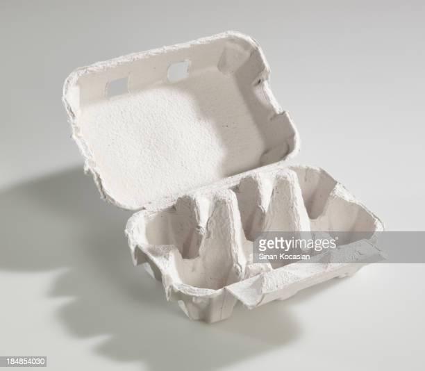 Empty egg carton