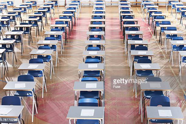 Empty Exam Hall