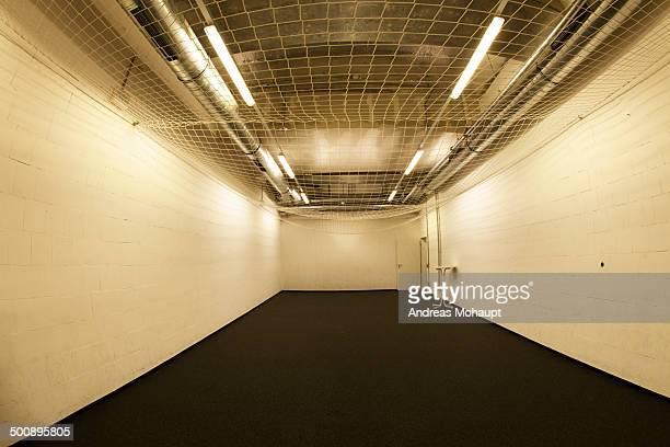 Empty exercise room
