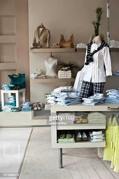 Vazio boutique feminina