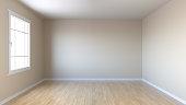 Empty flat