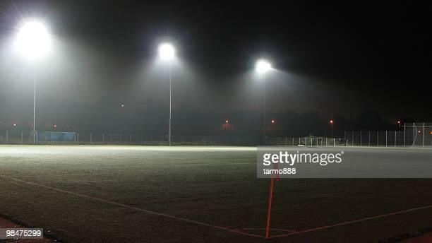 Empty Football (Soccer) Field