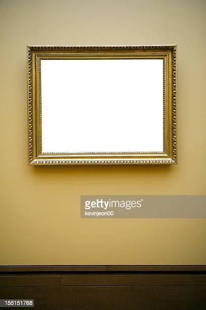 Leere Rahmen an der Wand