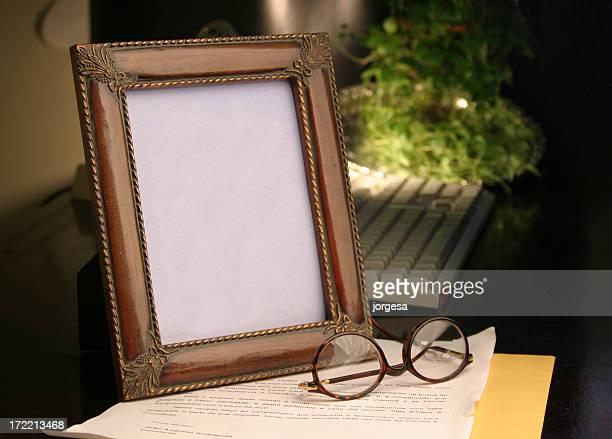 空白フレーム:写真を貼り付けます。