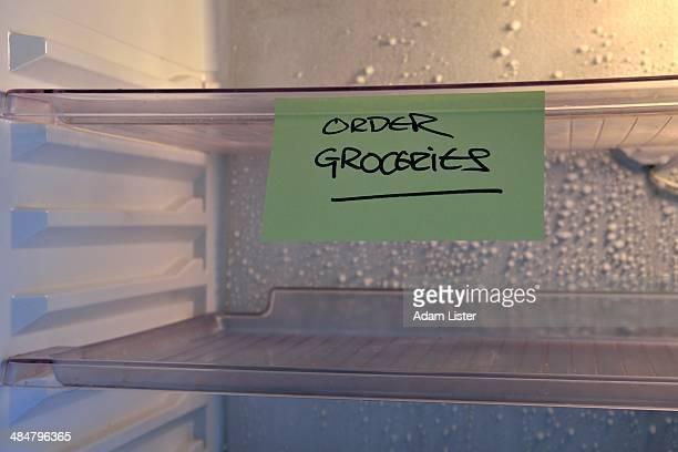 Empty Fridge: Order Groceries