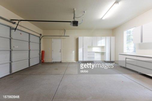 Empty Garage Closed