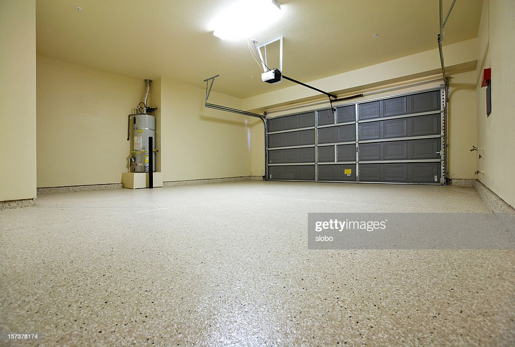 Empty Garage Stock Photo Getty Images