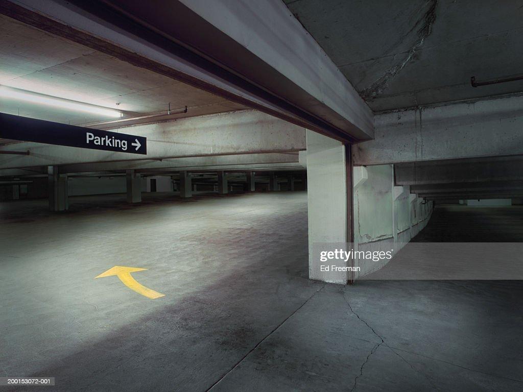 Empty garage : Foto de stock