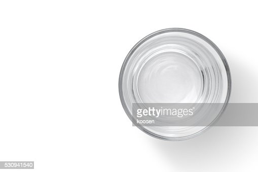 empty glass cup : Stock Photo