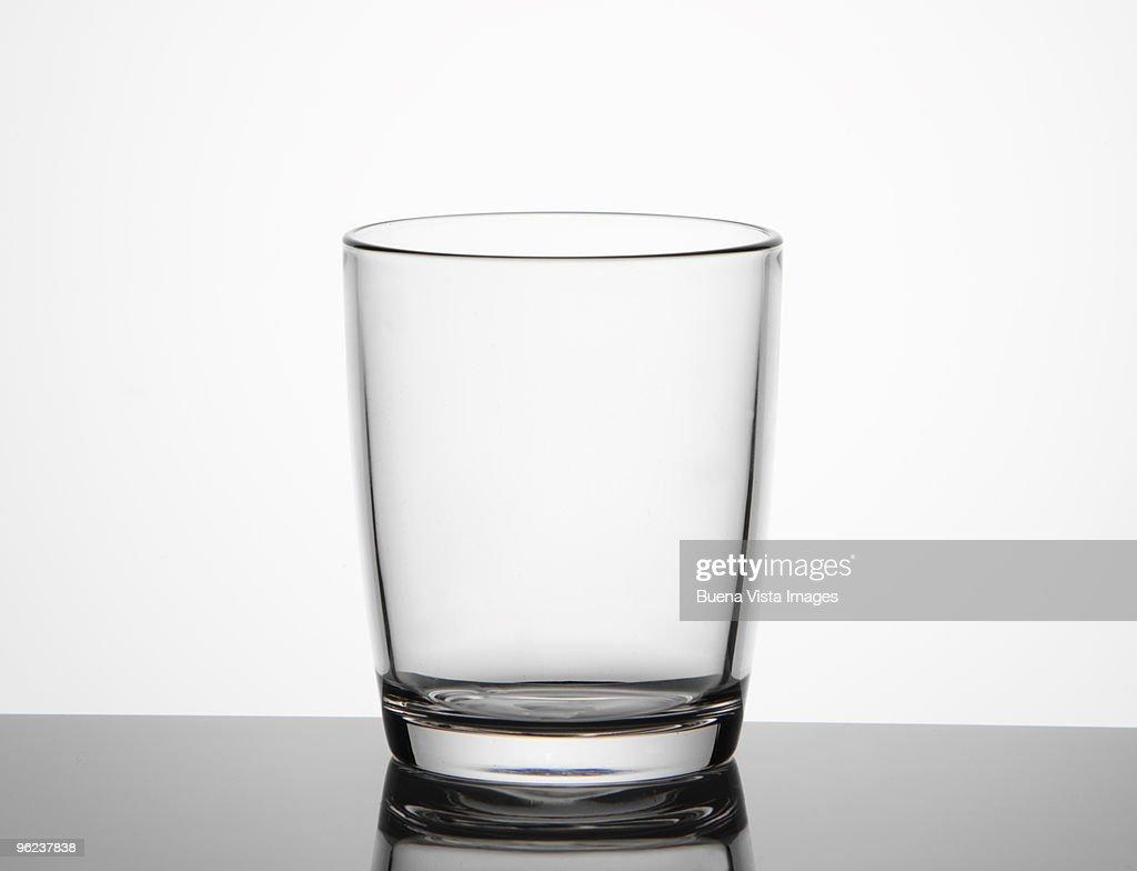 Empty glass : Stock Photo