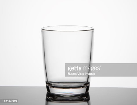 Empty glass : Stock Photo