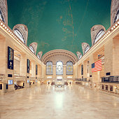 Empty Grand Central Terminal