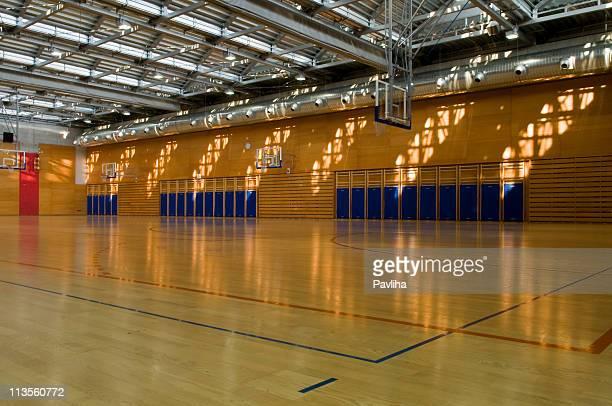 Empty Gymnasium Sport Center Hall