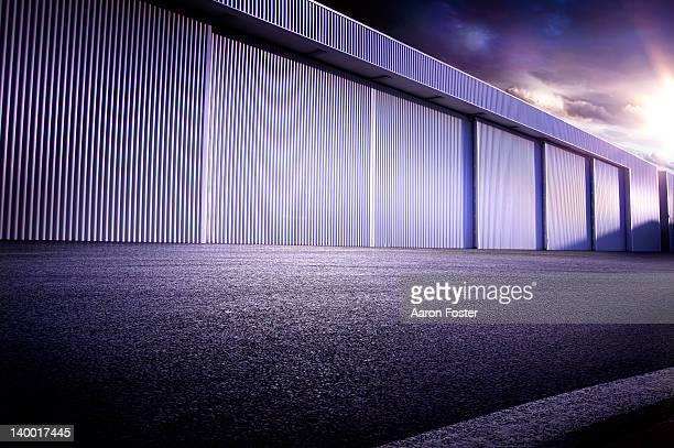 Empty hangar.