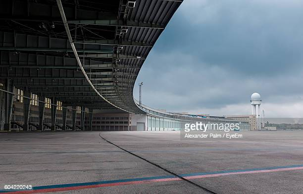 Empty Hanger At Berlin Tempelhof Airport