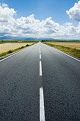Empty Highway in Spain