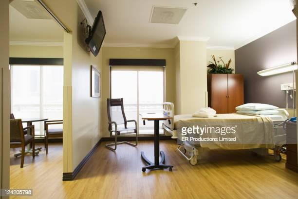 Leere hospital Zimmer