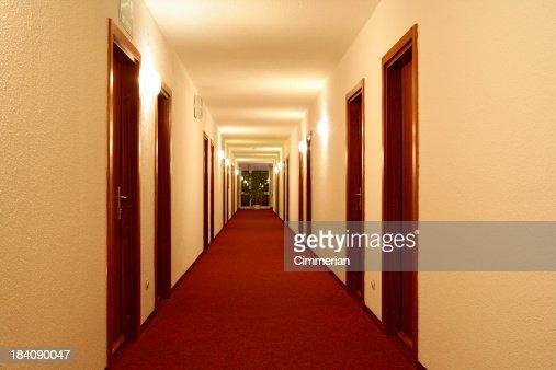 Corridoio vuoto hotel