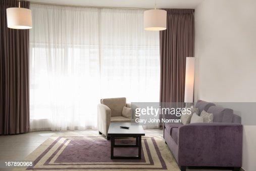 empty hotel suite : Stock Photo