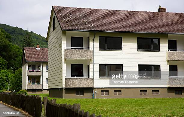 Empty houses on June 24 2015 in Zorge Germany