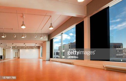 HDRI Empty interior school