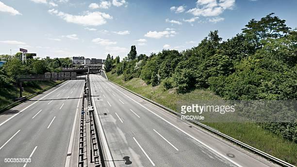 empty interstate