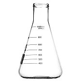 Empty Lab Flask