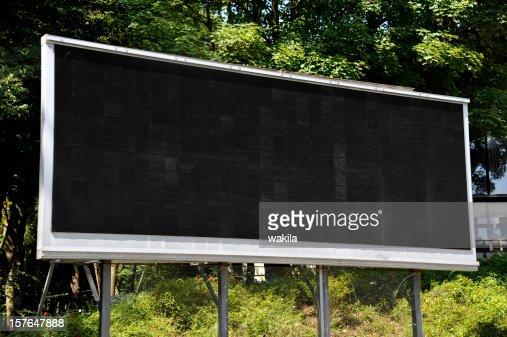 empty LCD Screen